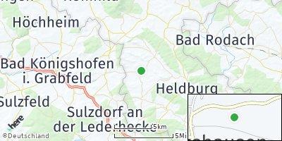 Google Map of Gompertshausen