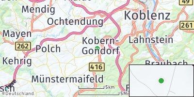 Google Map of Kobern-Gondorf