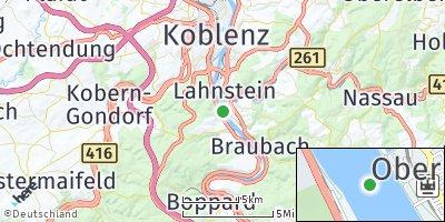 Google Map of Niederlahnstein