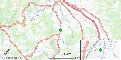 Google Map of Hahnstätten