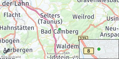 Google Map of Bad Camberg