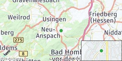 Google Map of Wehrheim