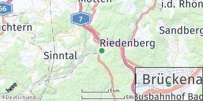 Google Map of Bad Brückenau