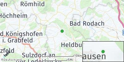 Google Map of Westhausen