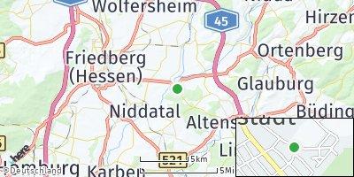 Google Map of Florstadt