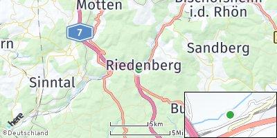 Google Map of Riedenberg