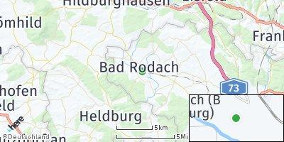 Google Map of Bad Rodach