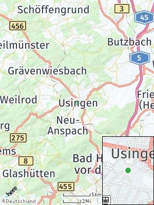 Here Map of Usingen