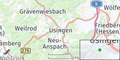 Google Map of Usingen