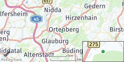 Google Map of Ortenberg