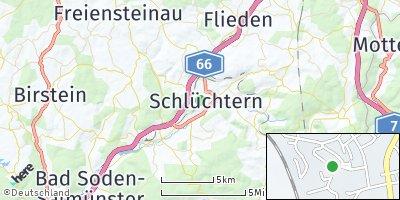 Google Map of Schlüchtern