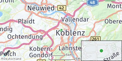 Google Map of Metternich