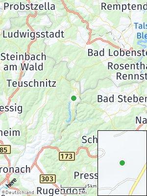 Here Map of Nordhalben