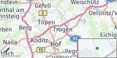 Google Map of Feilitzsch
