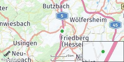 Google Map of Ober-Mörlen