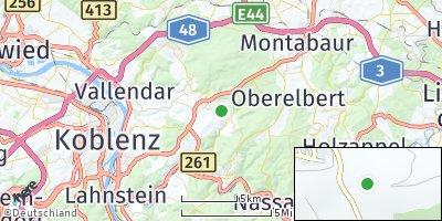 Google Map of Kadenbach