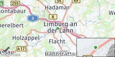 Google Map of Limburg an der Lahn
