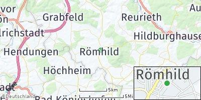 Google Map of Römhild