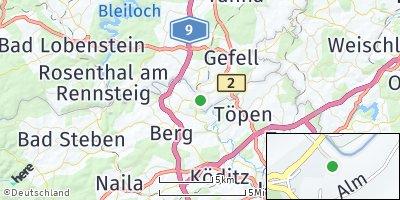 Google Map of Hirschberg