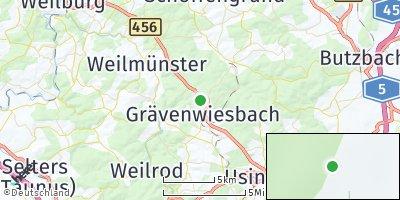 Google Map of Grävenwiesbach