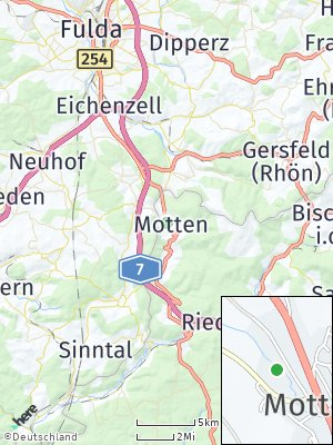Here Map of Motten