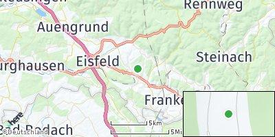 Google Map of Bachfeld