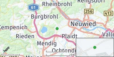 Google Map of Nickenich