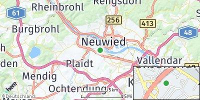 Google Map of Weißenthurm