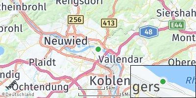 Google Map of Kaltenengers