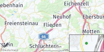 Google Map of Flieden