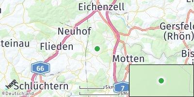 Google Map of Kalbach