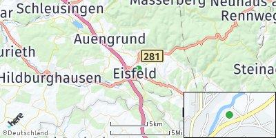 Google Map of Eisfeld