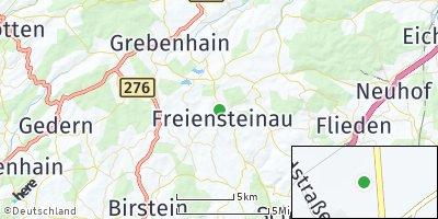 Google Map of Freiensteinau
