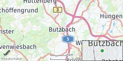 Google Map of Butzbach