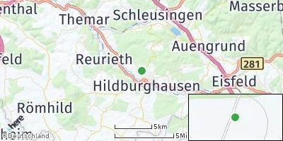 Google Map of Hildburghausen