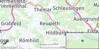 Google Map of Reurieth