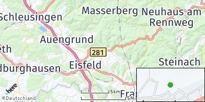 Google Map of Sachsenbrunn