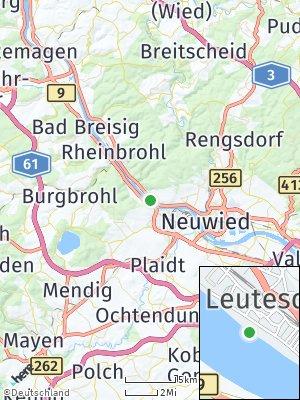 Here Map of Leutesdorf