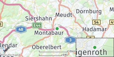 Google Map of Heiligenroth