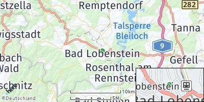 Google Map of Bad Lobenstein