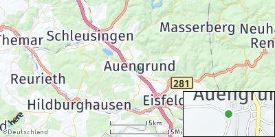 Google Map of Auengrund