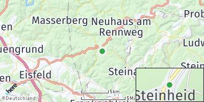 Google Map of Steinheid