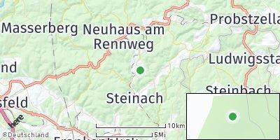 Google Map of Lauscha