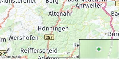 Google Map of Ahrbrück