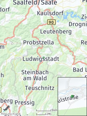Here Map of Ludwigsstadt