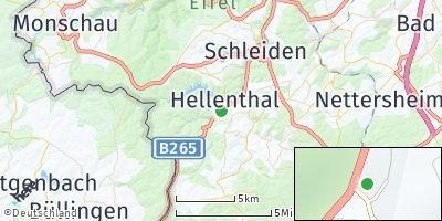 Google Map of Hellenthal