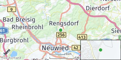 Google Map of Melsbach