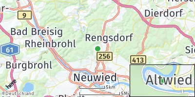 Google Map of Altwied