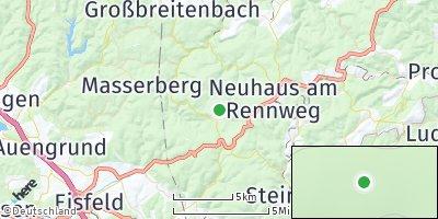 Google Map of Scheibe-Alsbach