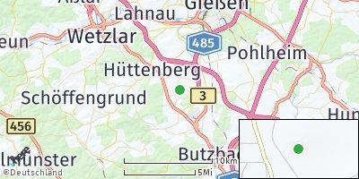 Google Map of Hüttenberg